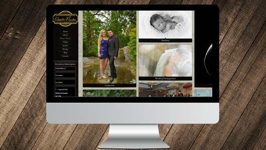 Lifestyle Photography Website