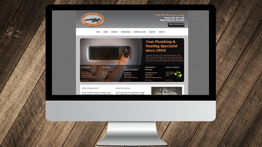 Mission Plumbing and Heating Website
