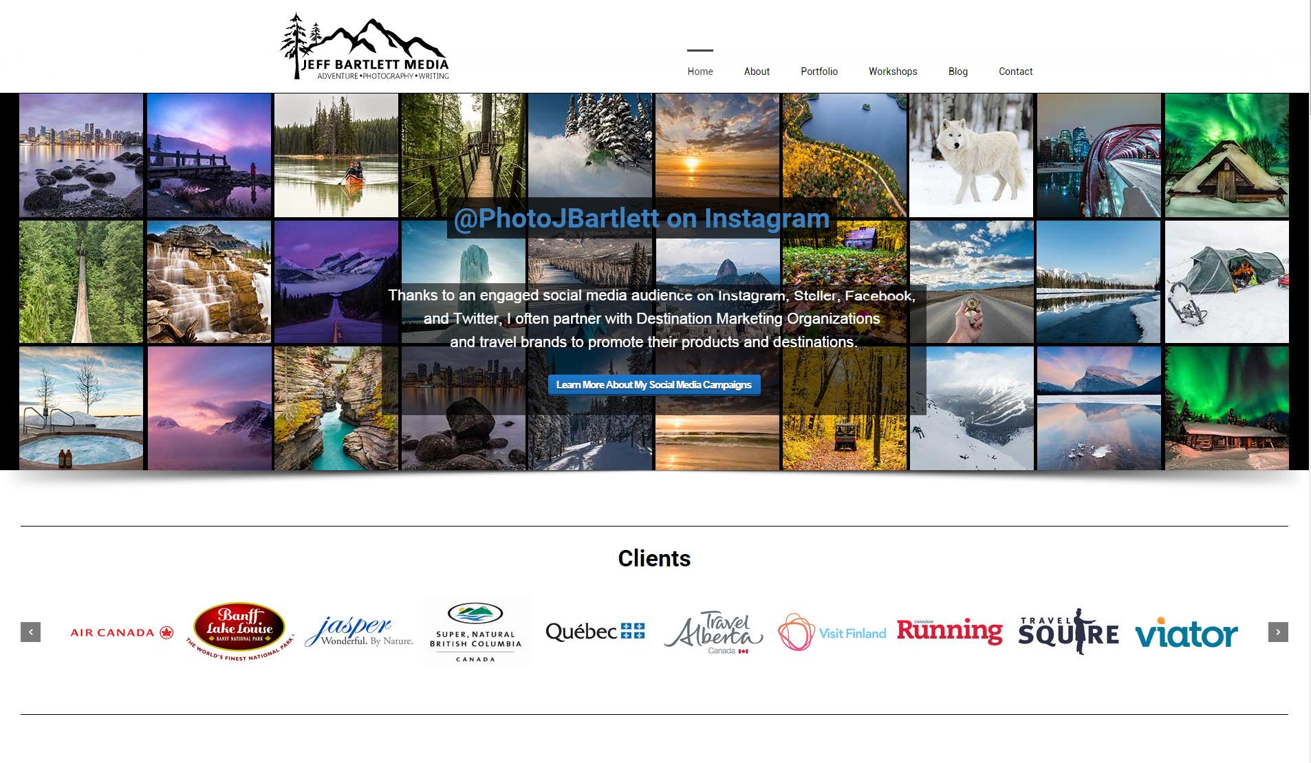 Jeff Bartlet Media Website
