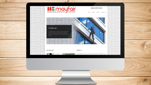 Mayfair Building Website