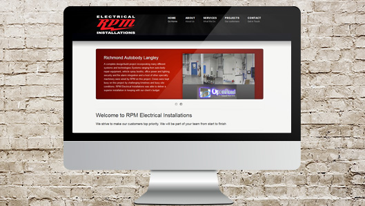RPM Electrical Website